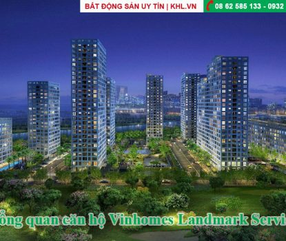 Vinhomes Landmark service apartment