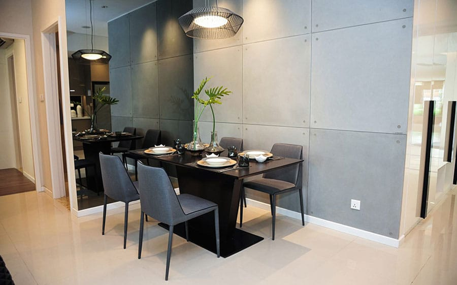 the-view-riviera-point-2bed-dinner-table