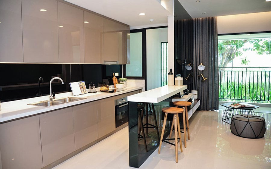 the-view-riviera-point-2bed-kitchenliving-room